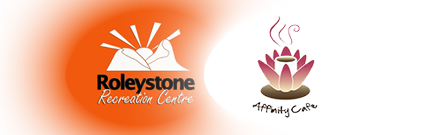 Roleystone Recreation Centre and Affinity Logo